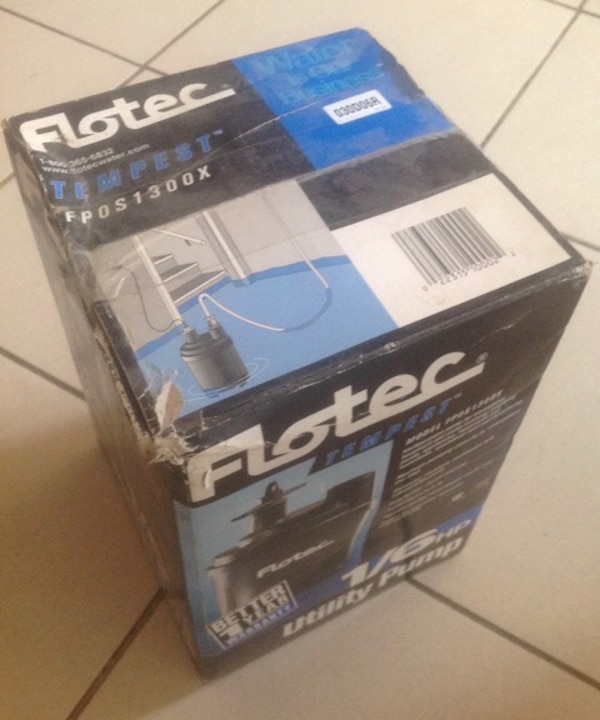 Unused Flotec Pump 9f356945-33ee-48e3-9e89-854bd23a6ca6
