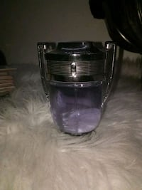 black and purple plastic container London
