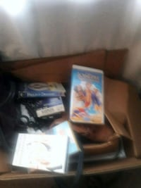 black Nintendo DS with game cases Lansdowne, 21227