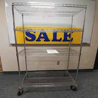 Commercial Grade Rolling Cart Rochester