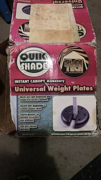 universal weight plates for instant canopy Freehold, 07728