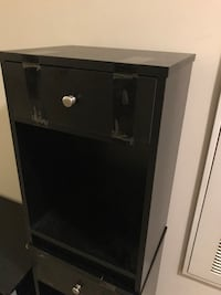 black wooden 2-door cabinet Arlington, 22202