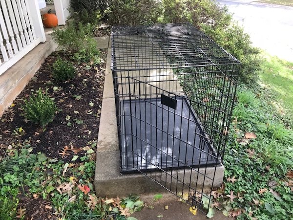 Large Dog Cage with Bottom