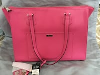 pink leather 2-way handbag Rockville, 20850