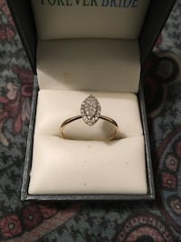 10k engagement ring all real
