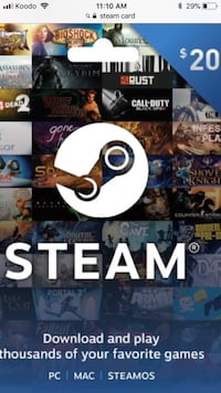 Steam account with gta 5 and csgo