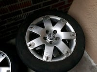 Tire and rims volkswagen.205/55/R16. Coquitlam, V3J 1W9