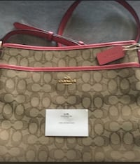 monogrammed beige and pink Coach St Catharines, L2P 2J6