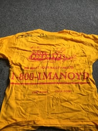 Autographed The Paranoyd's band t-shirt San Francisco, 94116