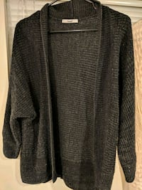 Charcoal gray cardigan Chantilly, 20152