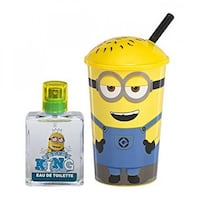 DESPICABLE ME MINION - HAND BAG, SIPPY CUP & FRAGRANCE 11994 km