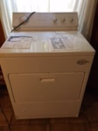 white front-load clothes dryer Bethesda