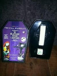 Disney Nightmare Before Christmas Trivial Pursuit Costa Mesa, 92627