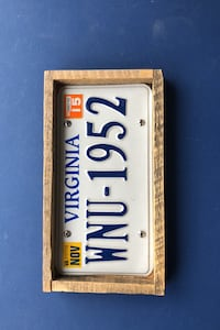 License Plate Tray
