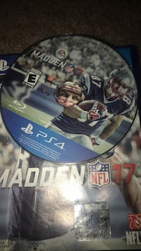 Madden NFL 17 PS4 game disc Charlotte, 28205