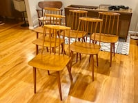 Midcentury danish dining chairs Annandale, 22003