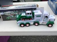green and white truck toy Owings Mills