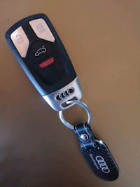 Audi 4 button Re-programable key fob  Chestermere, T1X 1A1