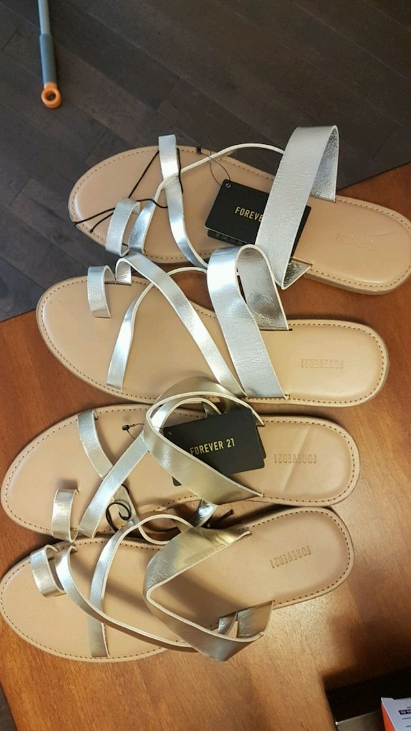 New Gold/Silver sandles