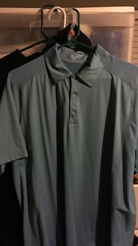 Baby blue Nike dri fit polo size large