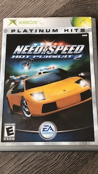 Xbox 360 need for speed rivals game case