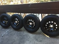 Winter tires and rims Michellin X-ICE ,235/70/16  Ford Escape Mississauga, L5N