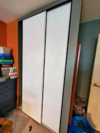 "white closet doors 25 1/2"" by 93 1/2""  Brampton, L6S 3W3"