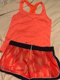 Under Armour shorts-m/ marching tank -s $15 set  Baton Rouge, 70806