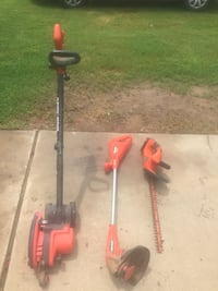 Orange string trimmer; orange hedge trimmer Lavaca, 72941