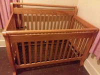 baby's brown wooden crib Huntington, 46750