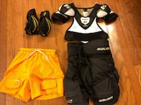 FOUR PIECES YOUTH HOCKEY EQUIPMENT, PANTS, SHORTS ETC Whitby