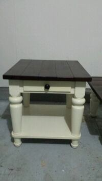 Farmhouse coffee table and side table