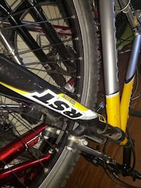 black and red hard tail mountain bike Greeley, 80634
