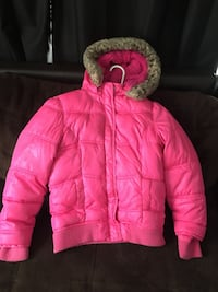 Girls size 12 justice brand winter coat  Portsmouth, 23707