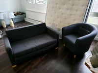 Sleeper loveseat and chair Alexandria, 22311