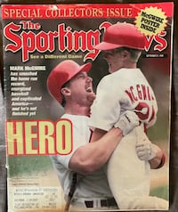 Mark McGwire Sporting News Magazine 1998 Lebanon