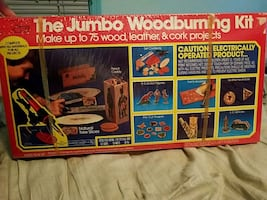 Vintage Jumbo woodburning kit (brand new)