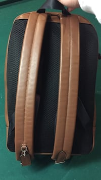 black and brown leather backpack Old Lyme, 06371