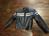 Leather motorcycle jacket Brooklyn
