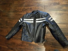 Leather motorcycle jacket NEGOTIABLE