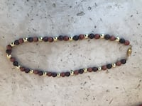 Brown/gold beaded necklace Gaithersburg