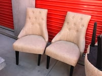 Barrel dinning chairs Henderson, 89012