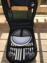 Rolling/Backpack Picnic Set