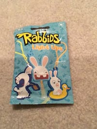 Rabbids light up key chains  Richboro, 18954