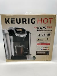 KEURIG K475 COFFEE MAKER W. TOUCHSCREEN- BLK- BNIB Ajax