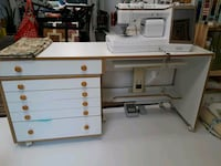 Horn sewing/quilting table and drawer cabinet Manassas, 20112