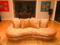 Silk Italian couches - set of two Los Angeles, 90048