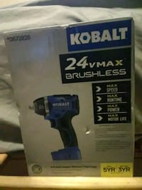 blue and black Kobalt cordless impact wrench box Vancouver, 98661