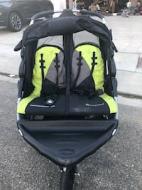 Used Baby Trend Expedition Ex Double Jogger Stroller For