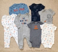 Carters baby boy bundle size 6 months  Mississauga, L5M 0H2
